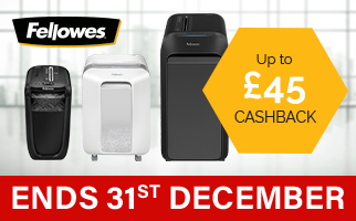 Shredder Cashbacks from Fellowes