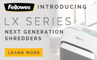 LX Range from Fellowes
