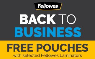 Laminator Bonus Packs from Fellowes