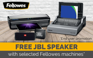 FREE JBL Speaker with Fellowes