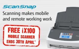 FREE ScanSnap iX100 Scanner