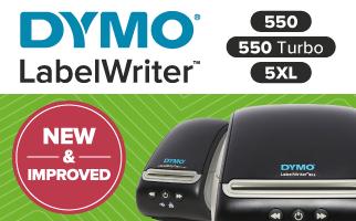 New DYMO 550 Range