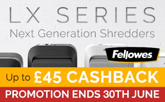 Next Generation Shredders - Fellowes LX Series
